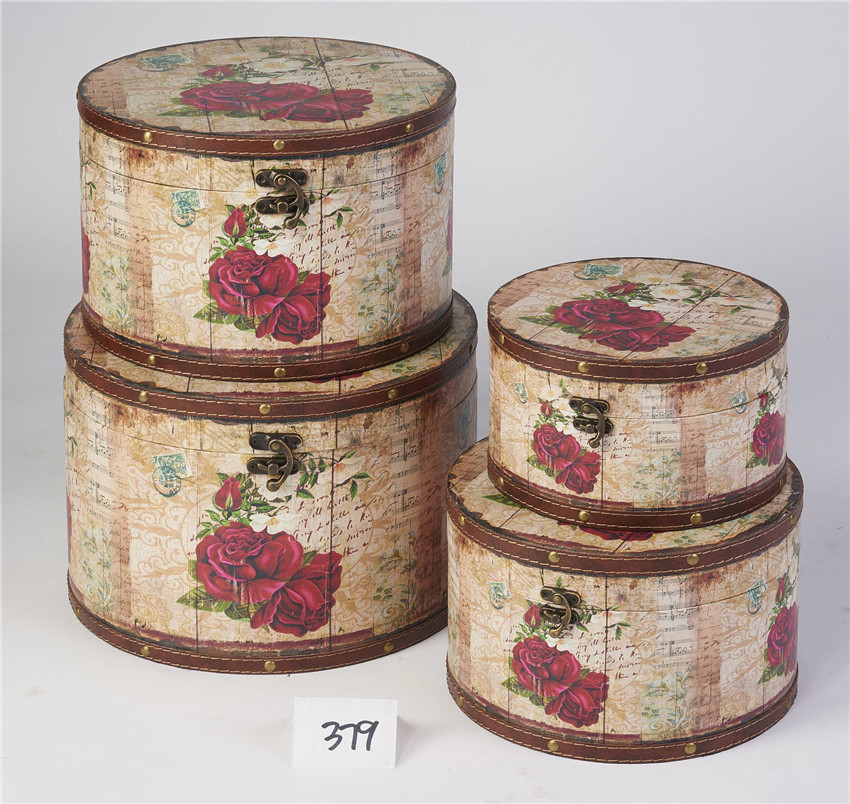 Decorative Boxes Uk: Best Vintage Hat Boxes Wholesale Sj17179 Manufacture