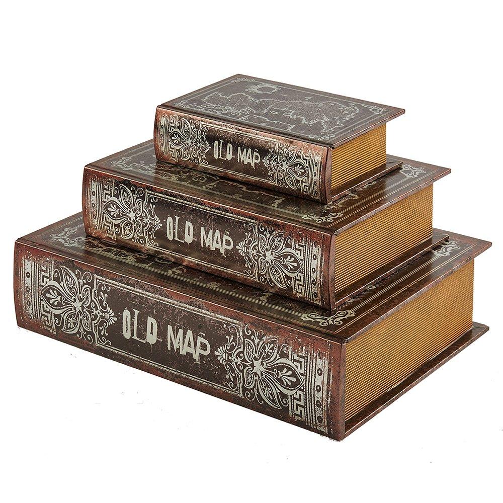 Decorative Boxes In Bulk : Decorative book boxes wholesale box company