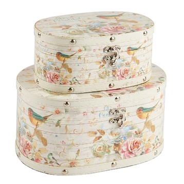 Round Wooden Boxes Wholesale