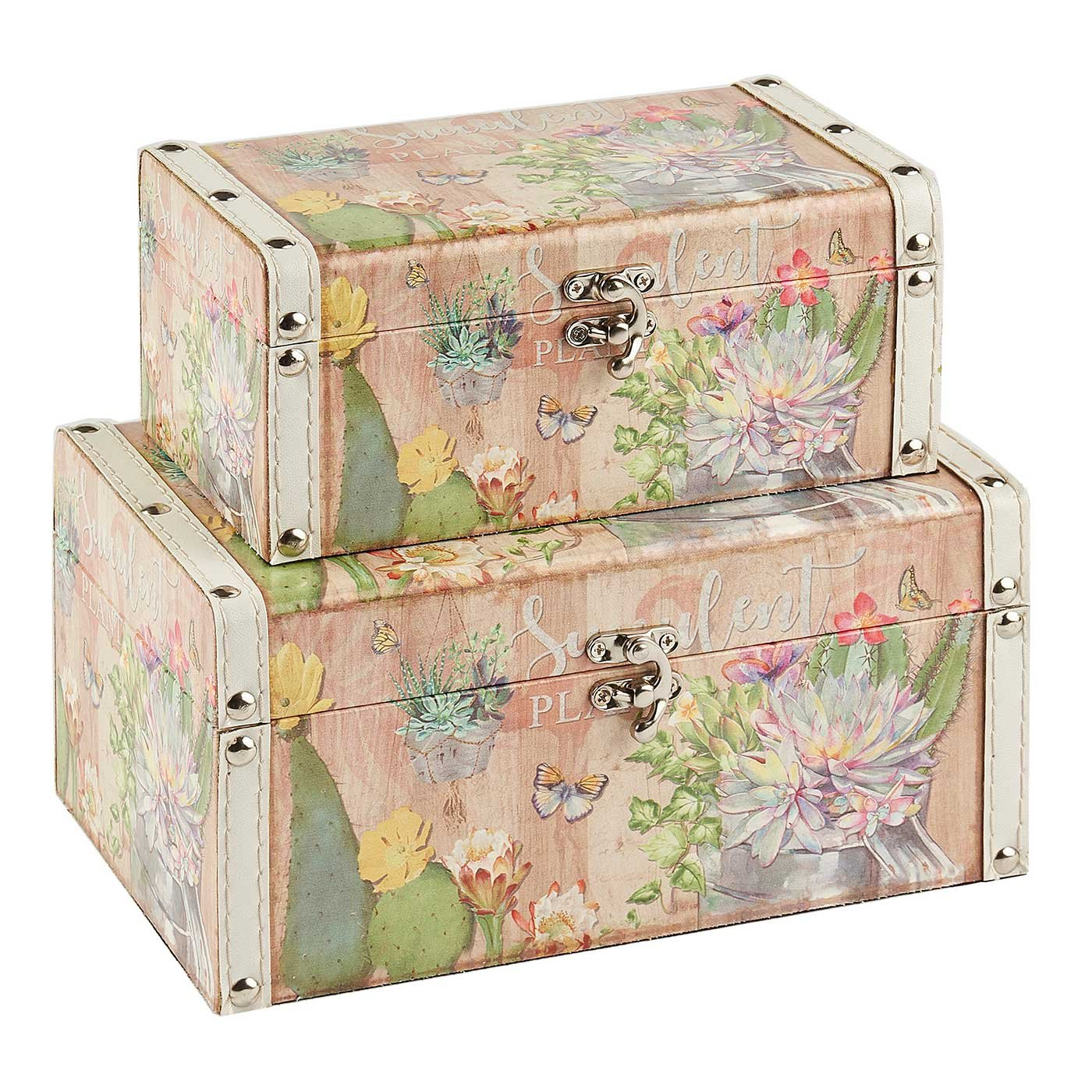 cha wooden hosley decorative leather clasp box s ea with storage boxes decor long